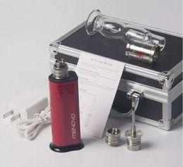 Wholesale Popular Electric - Most Popular E Cigarette Portable Electronic Nail Dnail Wax Smoking Device Electric Dab Rig Nail Dry Herb Vapors Vape Kit