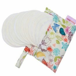 Wholesale Nursing Cloths - OhBabyKa Cloth Bag For Sanitary Pad And Nursing Pads Washable Diaper Bag Reusable Printing Muti-function With More Patterns