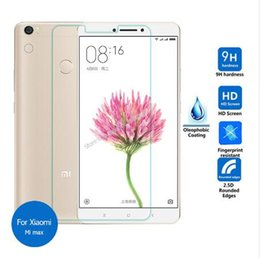 Wholesale Mi Dual Sim - For Xiaomi Mi Max Tempered Glass screen Protector 2.5 9h Safety Protective Film on Mimax Dual Sim