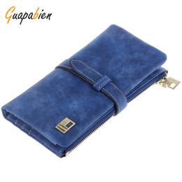 Wholesale Portfolio Ladies - Wholesale- Guapabien Ladies Portfolio Women Mini Wallets Zipper Short Women Leather Wallet Fold Wristlet Purse Holder Female Handbag