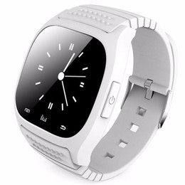 Wholesale Player Tracker - M26 Smart watch Sports Wristwatch Smartwatch with Dial SMS Remind Music Player Pedometer for Android Samsung Smartphones