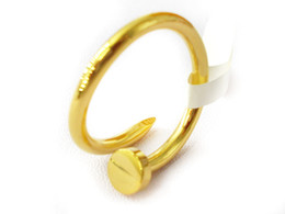 Wholesale Stainless Steel Love Style Rings - Screw nails Ring love ring classic style simple design good quality Stainless Steel cute Fashion original edition unisex china jewelry