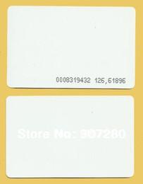Wholesale Proximity 125khz - Wholesale- 200 x RFID Tags 125kHz Proximity Thin Card In White