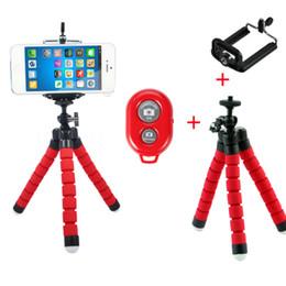 top dslr kameras Rabatt Zusammenklappbares Stativ Einbeinstativ Selbsthilfe Bluetooth Funk-Auslöser-Selbstauslöser für Android- und iPhone-Systemtelefonbenutzer