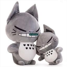 Wholesale Totoro Stuffed Toy Big - Dorimytrader Novelty Doll 65cm Big Funn Japan Anime Totoro Plush Toy 26'' Big Stuffed Cartoon Soft Cat Pillow Kids Present DY60972