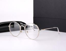 Wholesale Liberty Round - Wholesale- vintage Gentle brand optic prescription glasses frame titanium GM round frame Liberty eyeglasses frame Oculos De Grau with box