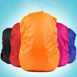 Wholesale Outdoor Waterproof Covers - Wholesale-Backpack Rain Cover Shoulder Bag Waterproof Cover Outdoor Climbing Hiking Travel Kits Suit