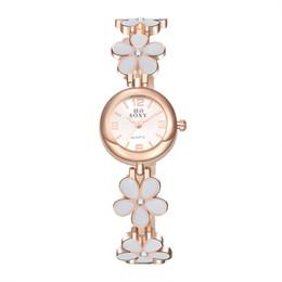 Wholesale Korea Ladies Watch - Lady Wrist Watch Quartz Woman Hours Best Fashion Dress Korea Bracelet Brand Leather Multicolored Crystal Knot Julius Box 627