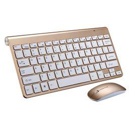 Wholesale Windows Multimedia Keyboard - Wireless Keyboard Mouse Combo K108 2.4G Wireless Mouse Multimedia Keys for Windows XP  7 8 10 Android Smart TV Box Laptop Desktop