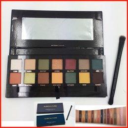 Wholesale Eyes Shadow Palette - SUBCULTURE Eyeshadow Palette with brush Brand 14 color eyeshadow Subculture Palette Makeup Eye Shadow with Lint pack free shipping