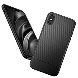 Wholesale Iphone Sillicone - for iPhone 8 Plus iPhone X Case Soft Sillicone Carbon Fiber Cover Case for iphone 7 Samsung Note 8 Galaxy S8 S8 Plus