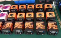 Wholesale Electronic Temp - Authentic Genuine Enail max power 100w Factory price Menovo electronic nail remote enail wax vaporizer smoking device for Temp Control Box