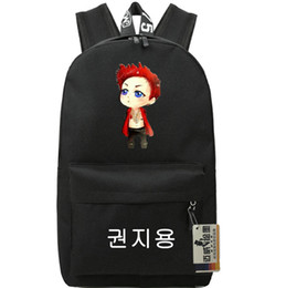 Wholesale School Girl Korea - G Dragon backpack Hip hop daypack Korea star GD schoolbag Music rucksack Sport school bag Outdoor day pack