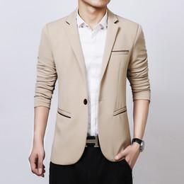 Wholesale Youth Dress Suits - Wholesale- Men 's leisure suit men' s self - cultivation small business suit jacket West Youth single business dress
