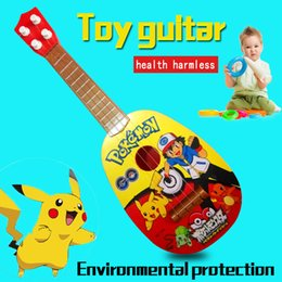 Wholesale Music Wholesalers Instruments - Electronic Guitar Toy Children Popular Music Concert Guitar Kids Musical Instruments Educational Toys Music guitar puzzle music toys