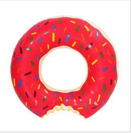 Wholesale Baby Swim Raft - Water sport floating tubes kids Donut Swimming ring beach swim pool toy for baby inflatable raft riding tubes