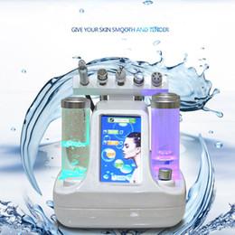 Wholesale Dermabrasion Rf - 5 in 1 Hydra Dermabrasion RF Bio-lifting Spa Facial care Machine   Hydro Microdermabrasion Facial Machine  water Dermabrasion with big pump