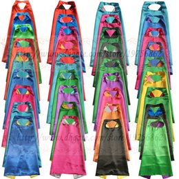 Wholesale Childrens Capes - Kids superhero cape - PLAIN - kids cape for birthday party favor or activity - childrens- super hero gift superhero halloween costume