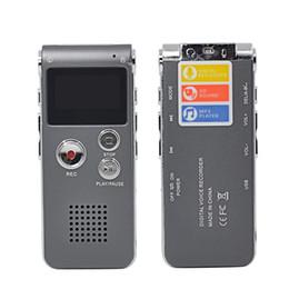 Wholesale Usb Voice Activated Recorders - Wholesale- Multifunctional 8GB 3IN1 Mini Voice Recorder Digital Activated Audio Recorder Flas Pen+USB+Mp3Player Dictaphone gravador de voz