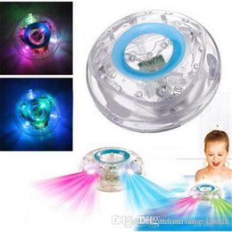 Wholesale Toy Tub - Waterproof Led Bath Toys Party in the Tub Bath Water LED Light Kids Waterproof Children Colorful Toys Kids Baby Toys Bathroom LED Light