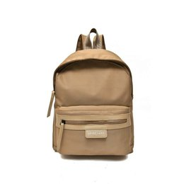 Wholesale Cheap Boys Bags - 2017 Cheap Fashionable Wholesale Price Long Chang Backpack Bags Black Blue White Pink Gray High Quality Limited Backpacks Free Shiipping