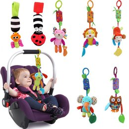 Wholesale Christmas Bells For Sale - Baby Gift Hot Sale New Infant Toys Mobile Baby Plush Toy Bed Wind Chimes Rattles Bell Toy Stroller for Newborn Christmas Gift New Infant Toy