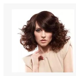 Wholesale Wigs Volume - good quality fashion Short points in small volume of foreign trade in Europe BROWN America brief paragraph wig peruca Cosplay Wigs