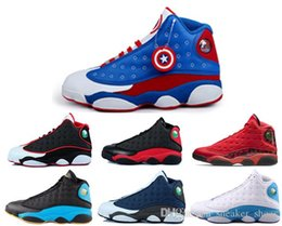 Wholesale Chinese Canvas - air retro 13 man basketball shoes new arrived chinese singles day He Got Game sneaker black cat bred flints discount sports shoes