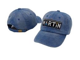 Wholesale Custom Purple Hats - 2017 new Martin Show Cap baseball Retro Dad Hat Drake OG Custom 90s X Logo Vtg Kanye West Boost 350 bone golf swag casquette hats for men