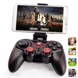 Wholesale Tablet Pc Game Controller - New Arrival Terios T3 Wireless Bluetooth Gamepad Joystick for Android Smartphone Tablet PC Game Remote Controller