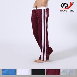 Wholesale Erotic For Men - Wholesale- Quick-Drying Polyester Men Pants Cloth Trousers Tights Homewear Mens Sexy Erotic Homens Cargo Pants For Men Cotton Pants