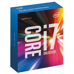 Wholesale Intel E Cpu - Original for Intel Core i7 7700K Processor 4.20GHz  8MB Cache Quad Core  Socket LGA 1151   Quad Core  Desktop I7-7700K CPU