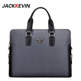 Wholesale Computer Delivery - Wholesale- 2017Men's Briefcase Leather Bag Messenger Bag Laptops Business Bag With Free Delivery High Quality Office Laptop Bags