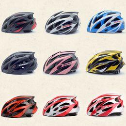 Wholesale Bicycle Helmets Moon - Hot Sale Moon Cycling Helmet Highway Capacetes Casco Bicycle Helmets For Men Women Size M 55-58cm L 58-61cm 25 Holes 275g
