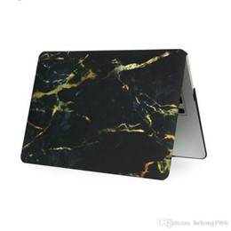 Wholesale Macbook Pro Plastic - Plastic Protective Sleeve Rectangle Water Decal Marble Pattern Notebook Case For Macbook Air Pro Retina Cover Fashion 29tx F R