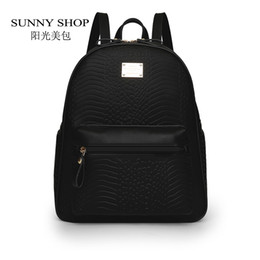 Wholesale Korean Fashion Dress Cashmere - SUNNY SHOP Korean Preppy Backpack Fashion Women Waterproof Fabric Bagpack School Bags For Teenagers Casual Daypack