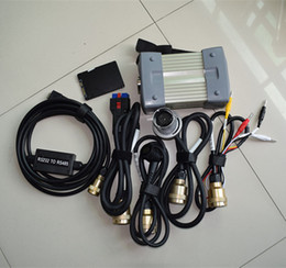 Wholesale Star C3 Tester - Top Quality MB Star C3 Diagnostic Multiplexer Tester MB star c3 full set all cables C3 software ssd fit in 95% laptop