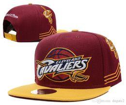 Wholesale Red Hot Balls - HOT 2017 SnapBack Cleveland CAVS Locker Room Official Hat Adjustable men women Baseball Cap