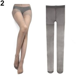Wholesale Brown Velvet Tights - Wholesale- Hot Sale Women's Sexy Fashion Candy Color Velvet Transparent Tights Stockings Pantyhose Retail Wholesale 5AT4 7FTW