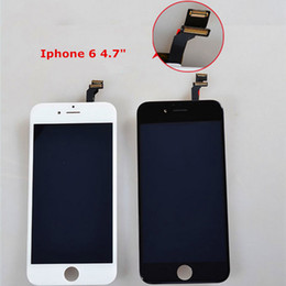 Wholesale Iphone Complete Set - New arrival Iphone LCD display touch screen digitizer complete screen panels set assembly replacement for iPhone 6 6S 6 Plus Free shipping