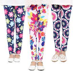 Wholesale Kids Leggings Big Girls - 2017 kids clothes Autumn Korean version of the new girls printed leggings in the big boy pants