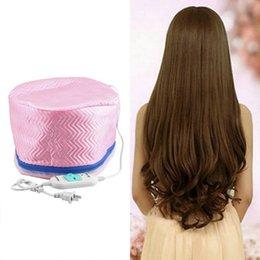 Wholesale Hair Thermal - 1Pcs Electric Hair Thermal Treatment Beauty Steamer SPA Nourishing Hair Care Cap Hair Steamer Cap