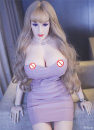 Wholesale Metal Skeleton Silicon Sex Doll - Sex Dolls Big Ass 166cm Top Quality 100% Tpe With Metal Skeleton Life Size Adult Big Breast Ass Dutch Wife Chubby H Cup Silicon Sex Doll