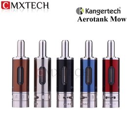 Wholesale Kanger Glass Clearomizer - Wholesale-Original Kanger Aerotank MOW Atomizer 1.8ML Pyrex Glass Tank Clearomizer Fit for Electronic Cigarette Kangertech EMOW VV Battery