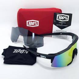 Wholesale Top Cycling Sunglasses - Wholesale- 2 Lenses 2017 Top Quality Cycling Sunglasses 100% MTB Jaw Bike glasses Men Women Sports Goggles gafas Bicycle Eyewear