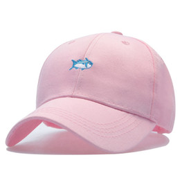 Wholesale Rare Fish - 2017 New Sun Golf Casquette Rare Drake Southerns Tide Small Fish Hat 6 Panel Bone Aba Rate Snapback Baseball Cap for Men Women