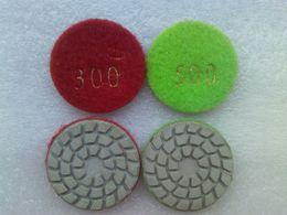 Wholesale Polish Marble - Diamond Soft Grinding Disc Polish Disc For Glass Stone Marble Grainte Tile Free ship 2pcs lot
