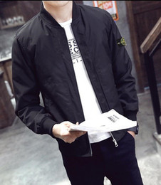 Wholesale Autumn Sport Suit - 2017 New Fashion Autumn STONED ISLAND Men's Fleece Hoodies Men Jacket Tracksuits High-quality Sport Suit Men Sweatshirt Free shipping