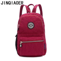47d3b3a7f59 backpacks prices Coupons - Wholesale- Nylon Women Backpack Solid School Bags  For Teenage Girls Nylon