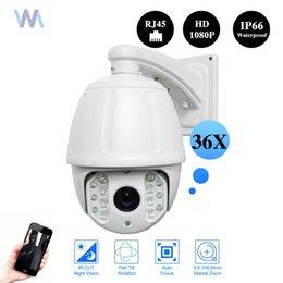 "Wholesale High Speed Ir Dome Ip - 7"" Inch HD 2.0MP 36X ZOOM Outdoor PTZ IP High Speed Dome CCTV Camera IR CUT Night 120M ONVIF"